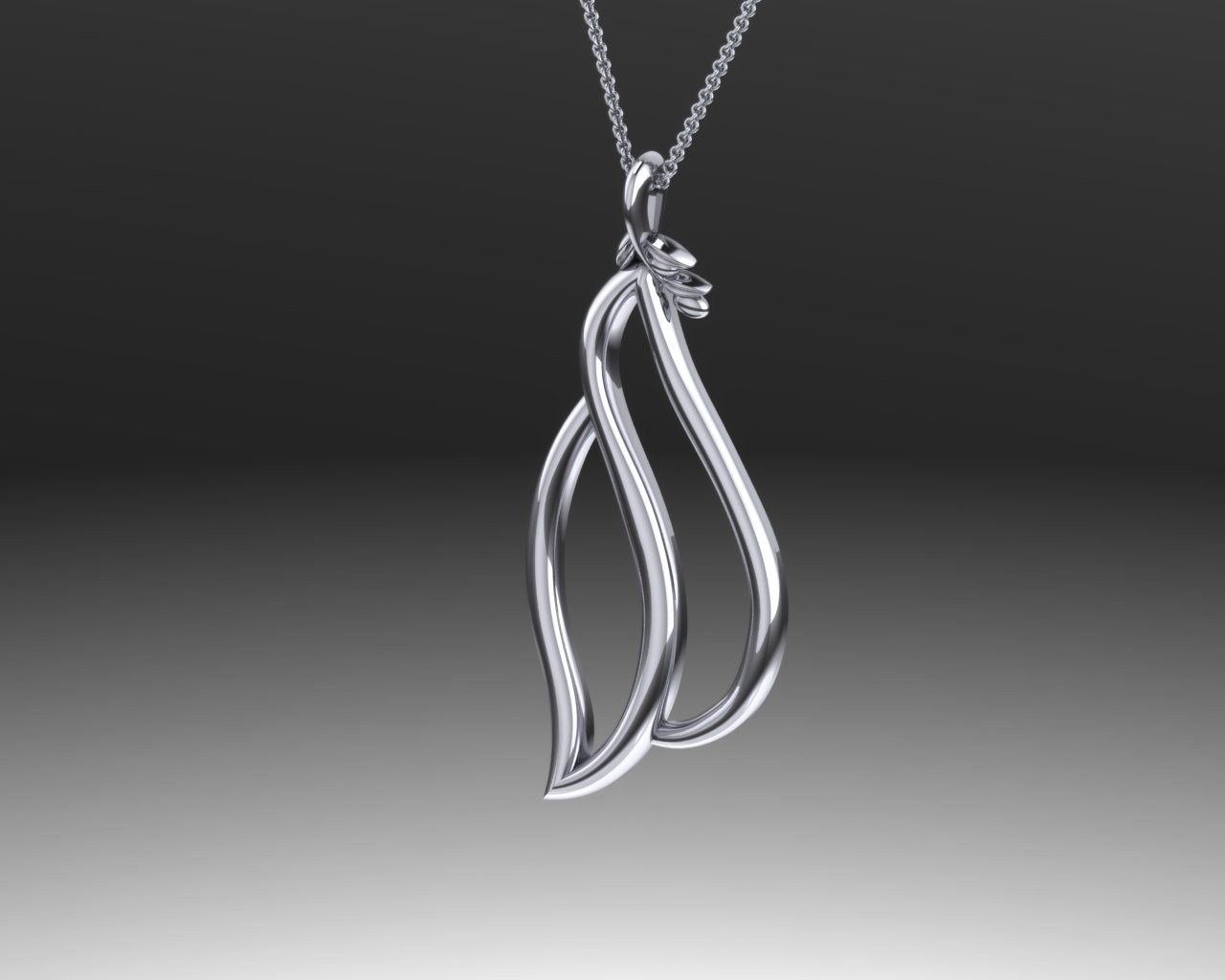 Silver dove necklaces sterling silver modern dove pendant silver dove necklaces sterling silver modern dove pendant mozeypictures Image collections