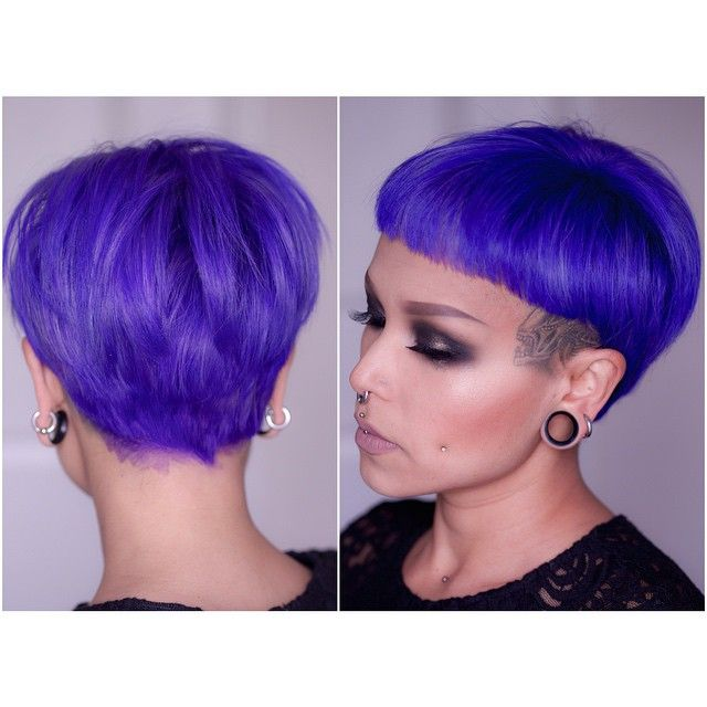 New Hair Colour Its Manic Panic Ultra Violet Mixed 5050 With