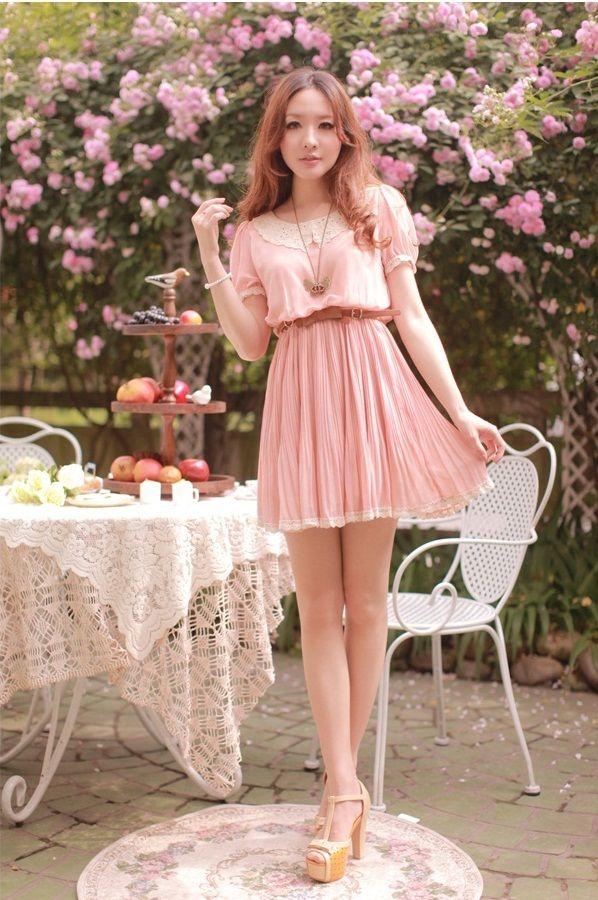 SNSD Yoona Style Pink korean fashion clothing | Cheap Dresses 2013 ...