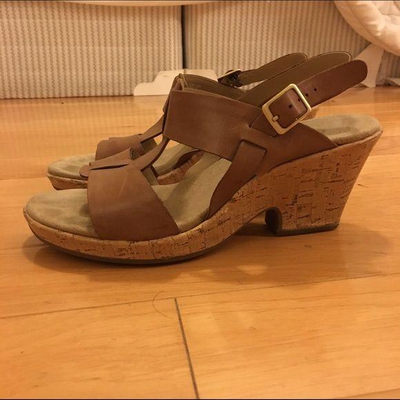 Clark wedge sandals