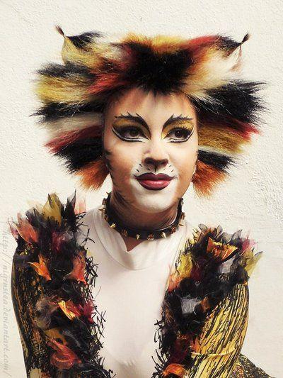 Demter (from Cats) maske Pinterest Maquillaje artístico