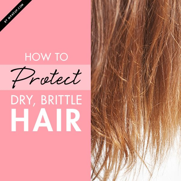 How to Protect Dry, Brittle Hair | Hair care routine, Healthy hair ...