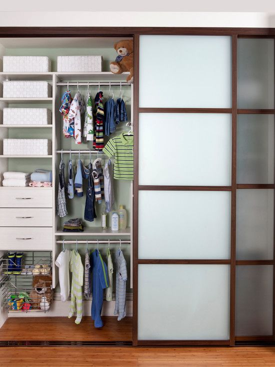 Beautiful Beautiful Baby Closet Organizer Ideas : Contemporary Organized Closet  Designed In Popular White Coco Melamine With