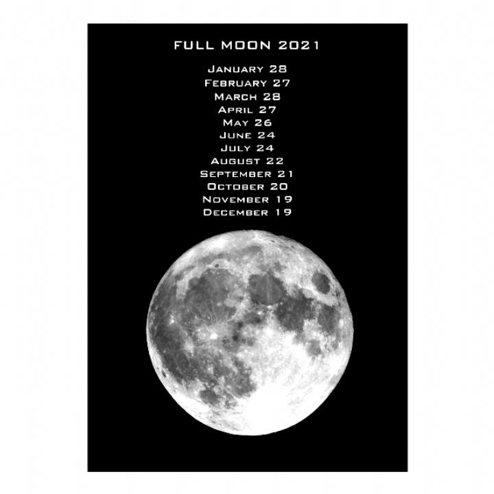Full Moon Dates Calendar 2021 #Ad , #AD, #Dates#Calendar# ...