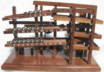 Idle Tyme The Original Rolling Ball Clock Marble Clock Marble Machine Clock