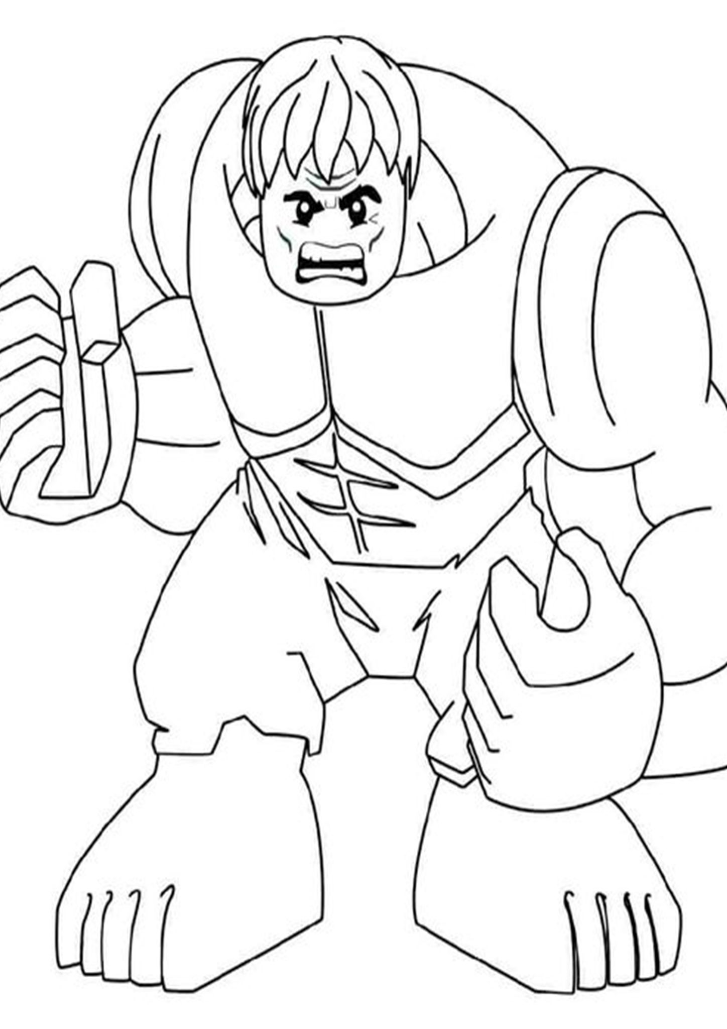 Free Easy To Print Hulk Coloring Pages Lego Coloring Pages Hulk Coloring Pages Avengers Coloring Pages