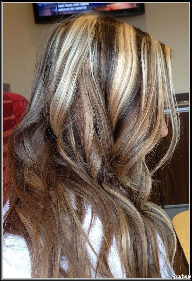 Brown Hair With Black Lowlights And Blonde Highlights Makeupsite