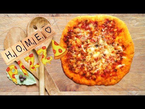 بيتزا ايطالية سهلة فيديو عالي الجودة طريقة عمل عجينة وصوص البيتزا خطوة بخطوة Arabic Food Cooking Vegetable Pizza
