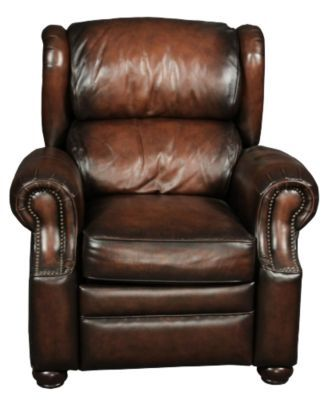 Homemakers Furniture 100% Leather Recliner With Nailhead Accents Bernhardt Living Room  sc 1 st  Pinterest : bernhardt van gogh leather sectional - Sectionals, Sofas & Couches