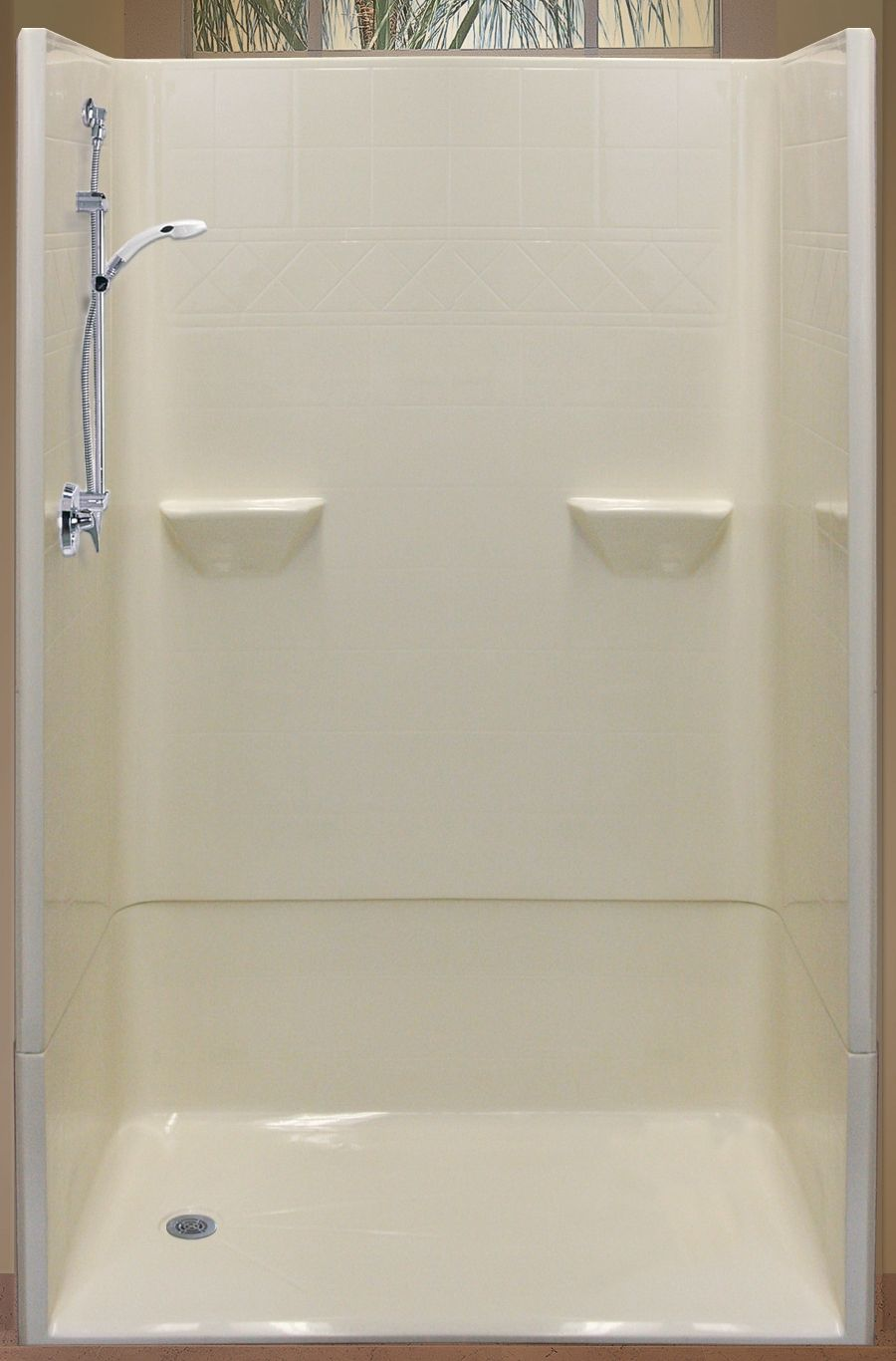 Shower. Replace your tub with a walk in shower and weighted shower ...