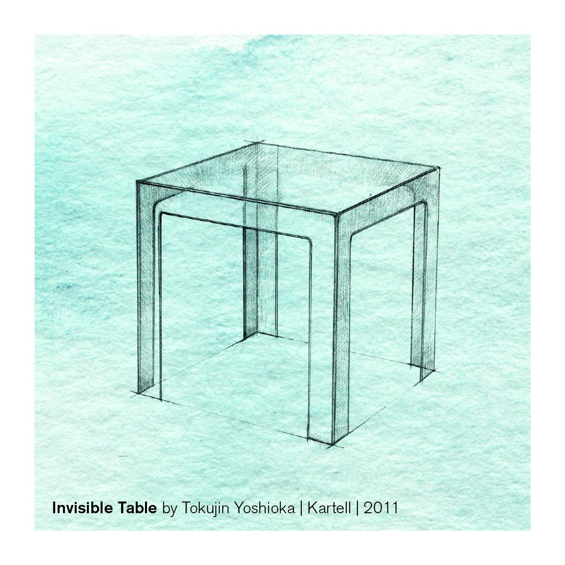 20 Jahre Designklassiker: Invisible Table von Kartell | im stilwerk ...