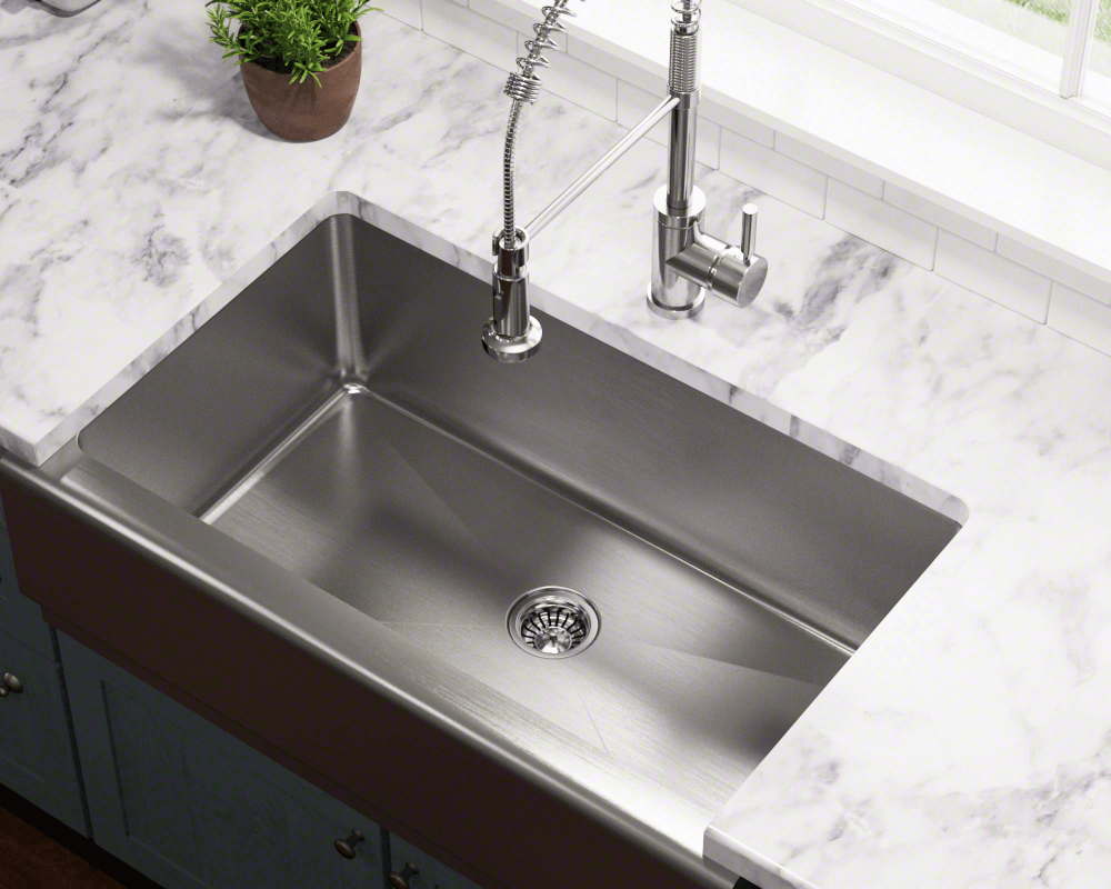 Attractive Apron Style Sinks, Especially Stainless Steel, Are Becoming A Popular  Choice For Today