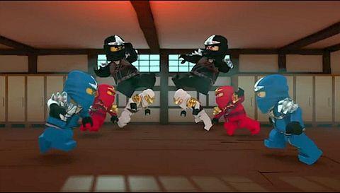 Cole:Get them!!! Wait... Yeah kill ourselfs!!!!   Ninjago ...