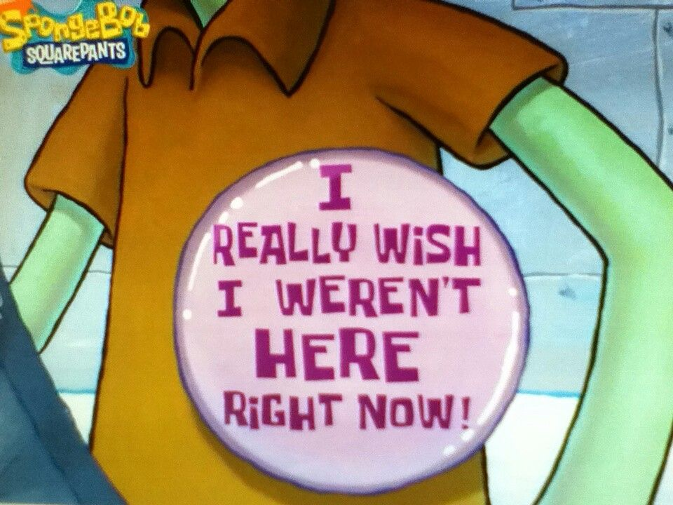 Take joy in your occupation. #Spongebob   spongebob life lessons ...