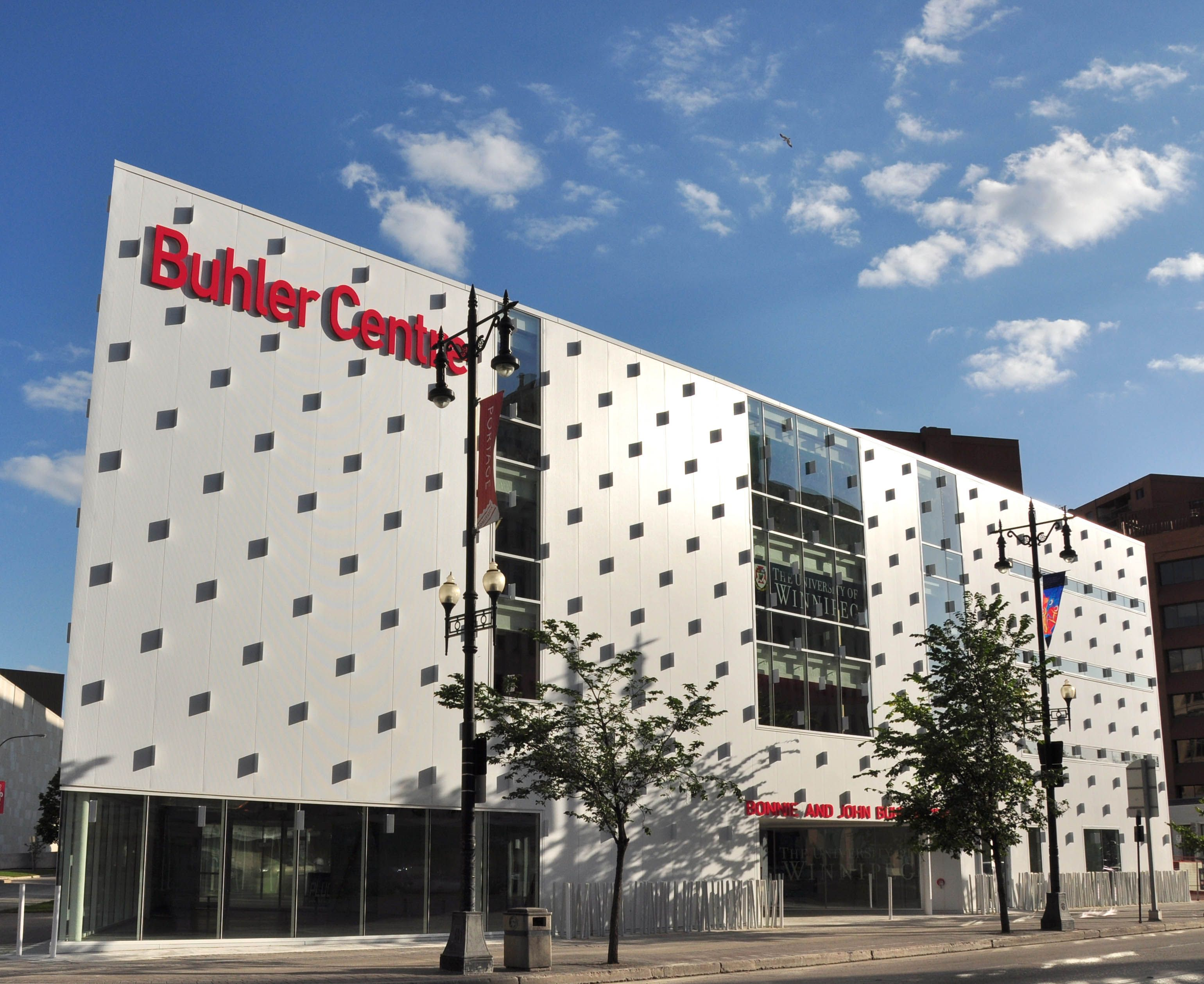 Engaging facades through the use of Kingspan Karrier Panel