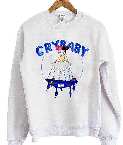 Melanie Martinez Cry Baby Sweatshirt Baby Sweatshirt Sweatshirts Melanie Martinez