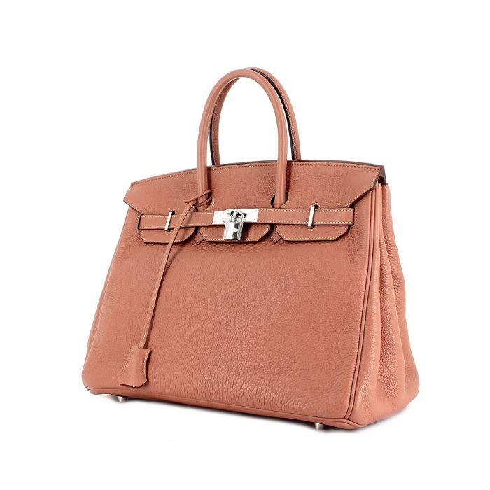 3094d7bf174f Hermès Birkin 35 cm en cuir rose poudre   Bags And Purses! in 2018 ...