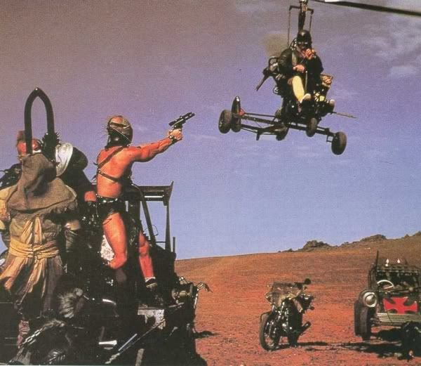 Image result for gyrocopter mad max
