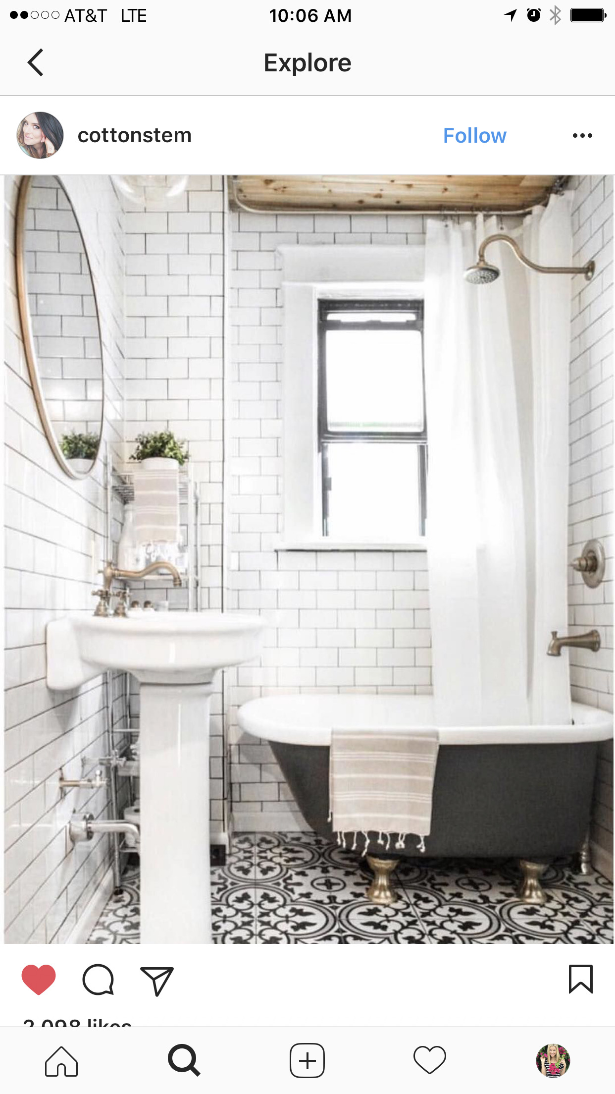 pin by kendra campbell on bathroom decor bathroom black white rh pinterest ca