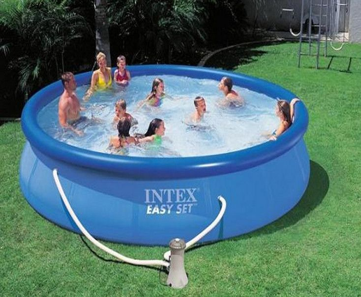Deep Inflatable Pool Easy Set Pools Pool Filters Intex Pool