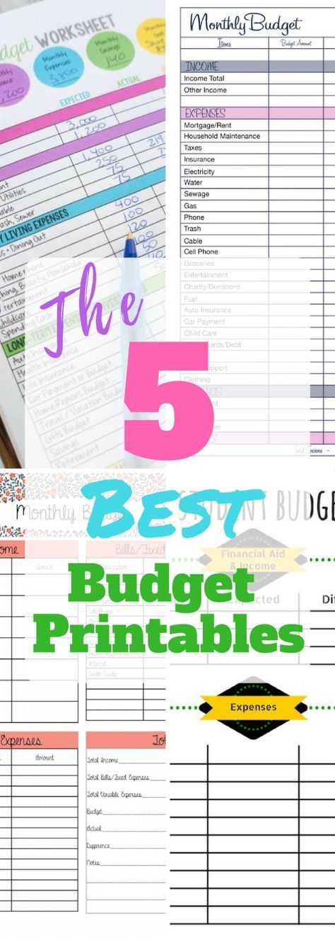 5 Life Changing Budget Templates You Need This Year Free budget