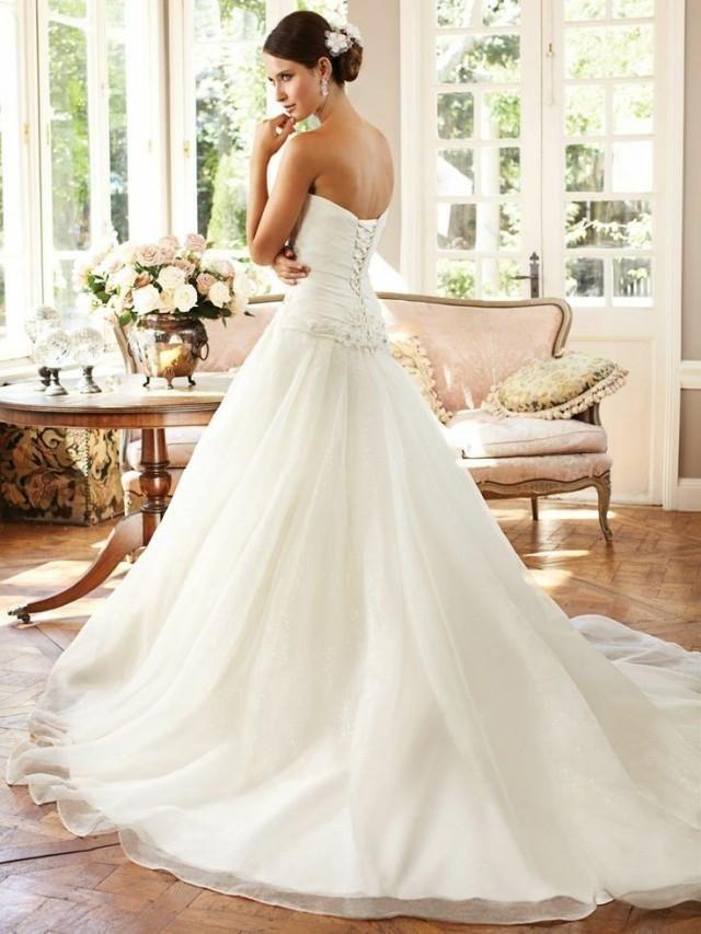 1f6e825d635f85 Einfache Meerjungfrau nach Maß Hochzeits-Kleid-Brautkleid Größe 2 4 6 8 10  12 14 16