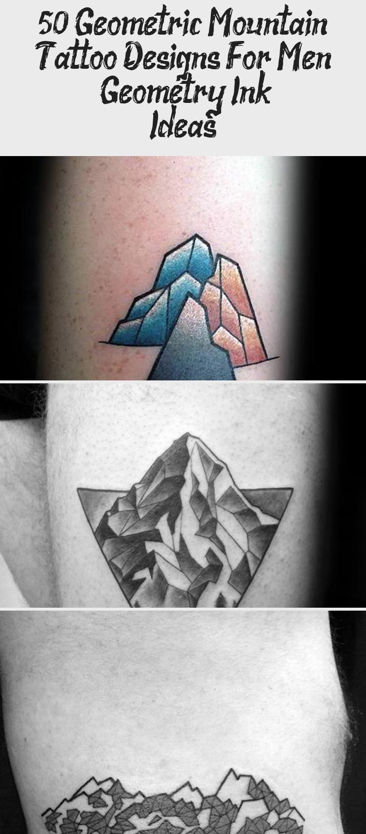 Photo of 50 Geometric Mountain Tattoo Designs For Men – Geometry Ink Ideas – Tattoo İdeas