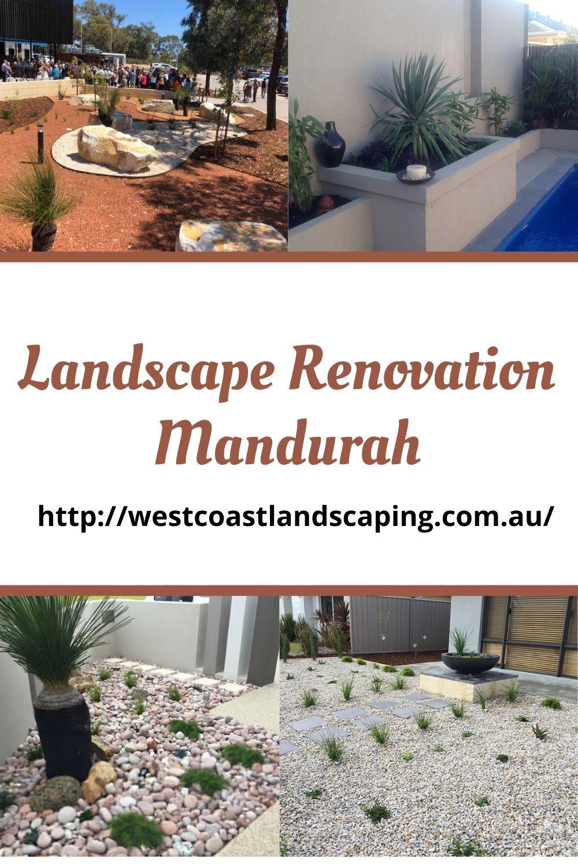 Landscape Renovation In Mandurah In 2020 Landscape Landscape Design Renovations