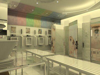 Great Public Restroom Design