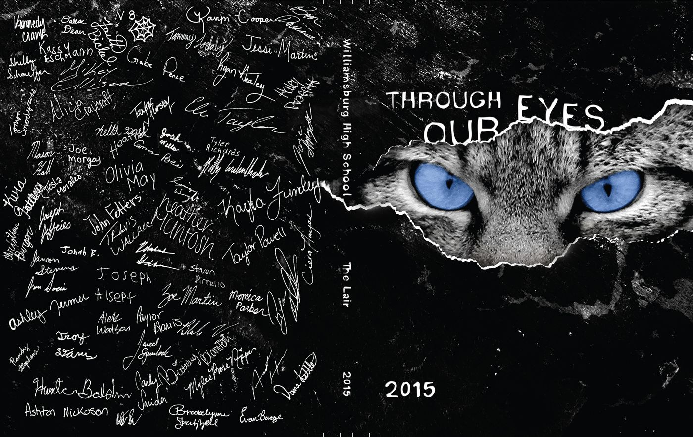 Yearbook Cover 884
