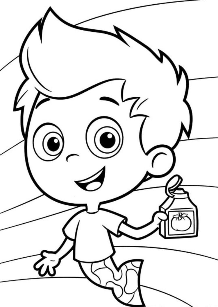 Gil Bubble Guppies Coloring Pages Bubble Guppies Coloring Pages Bubble Guppies Coloring Pages For Boys