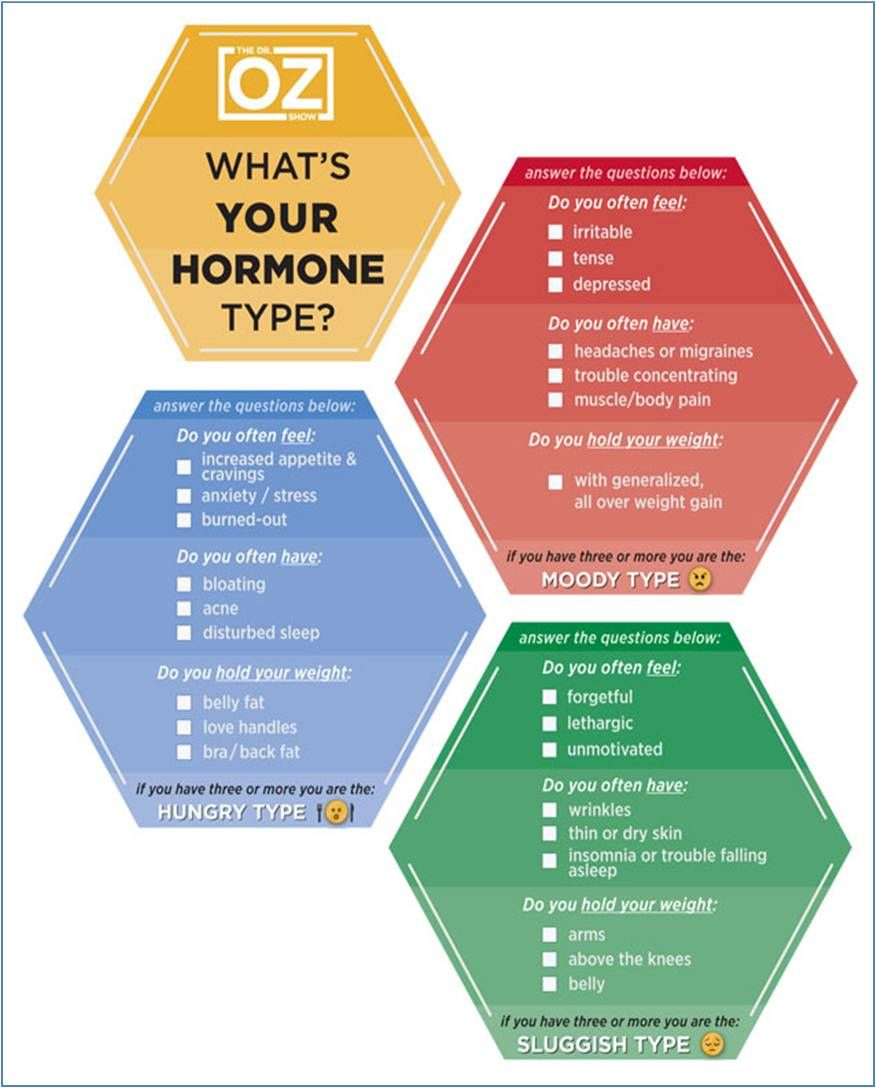What 39 s your hormone type dr oz show your hormones control more than just your mood they - Hormone de bouturage maison ...