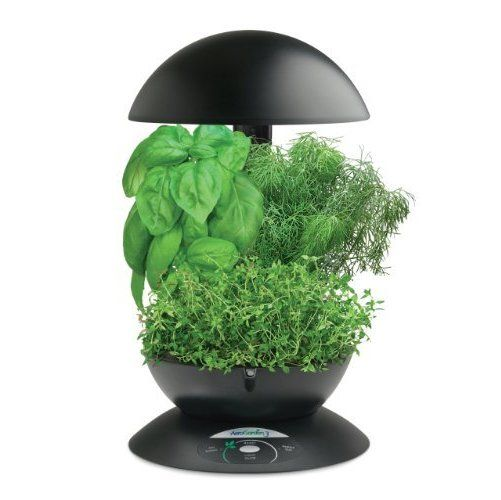 AeroGarden 3 with Gourmet Herb Seed Kit, Black ($89.95)