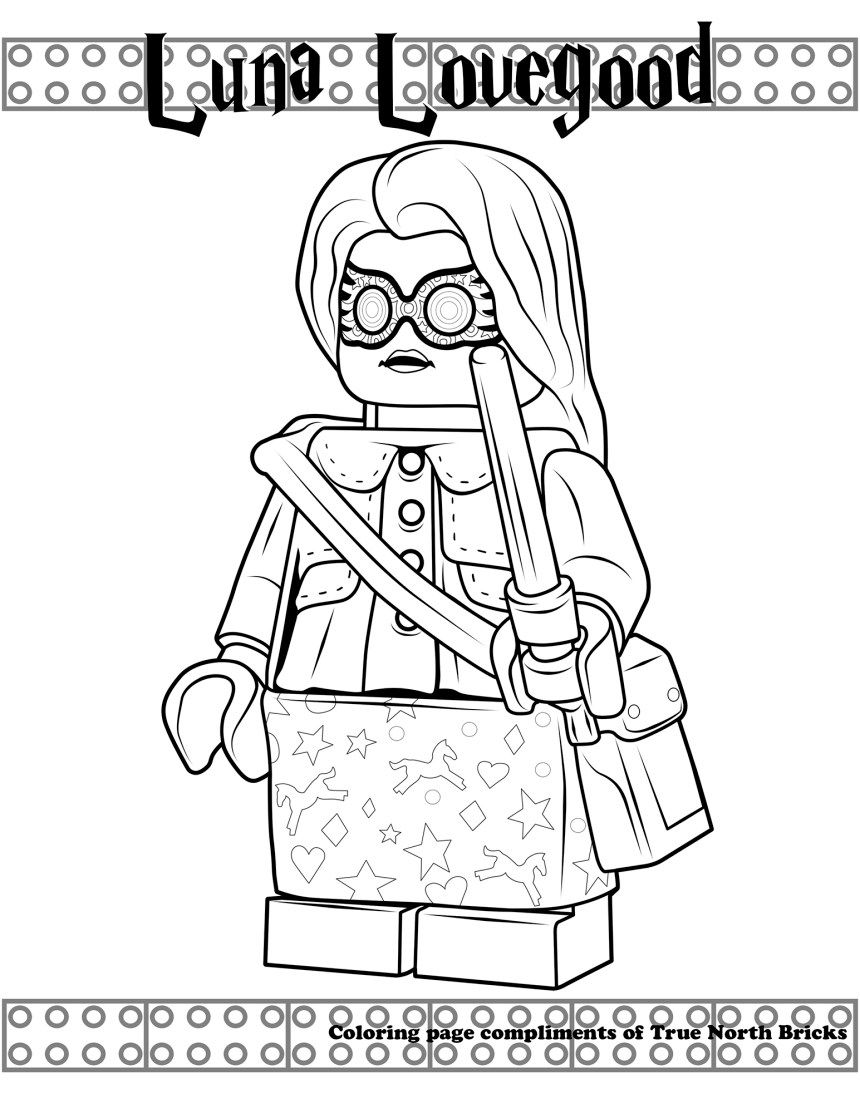 Harry Potter Contest From Lego Ideas True North Bricks Harry Potter Coloring Pages Lego Coloring Pages Coloring Pages