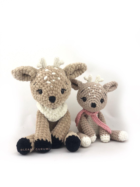 Reh Anleitung Häkeln Amigurumi  #crochetelements