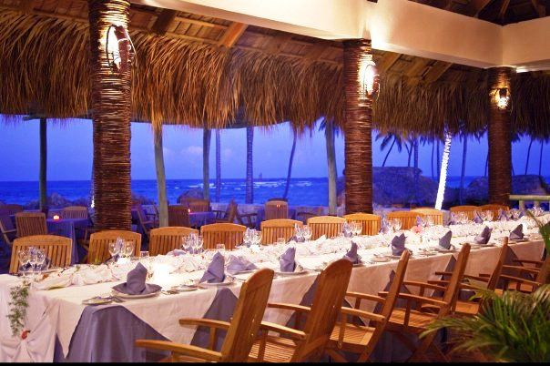 Beach Restaurant At Majestic Elegance Resort In Punta Cana Dominican Republic Sea And See My Wedding Dinner Is Here