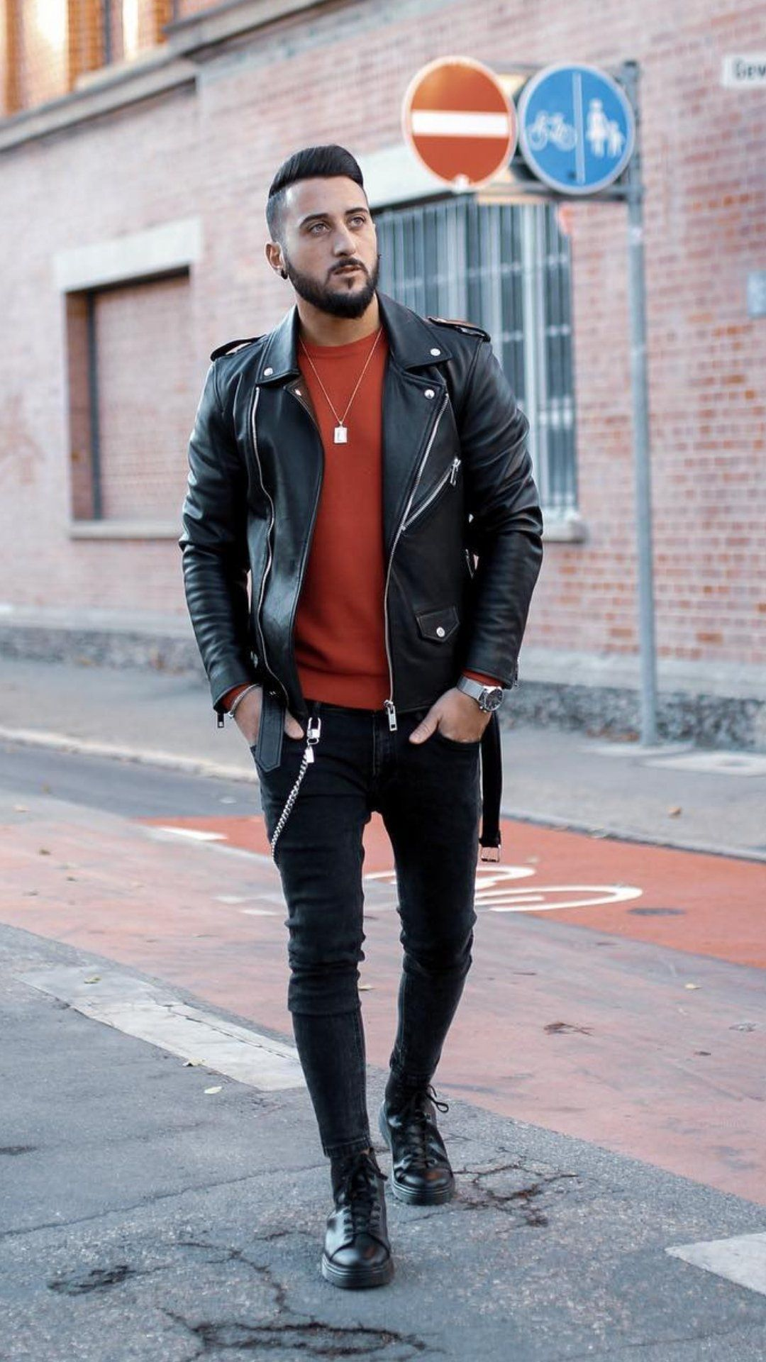 5 Leather Jacket Outfits You Haven T Seen Yet Leather Jacket Outfits Mens Fashion Leather Jacket Outfits Mens Street Style Leather Jacket