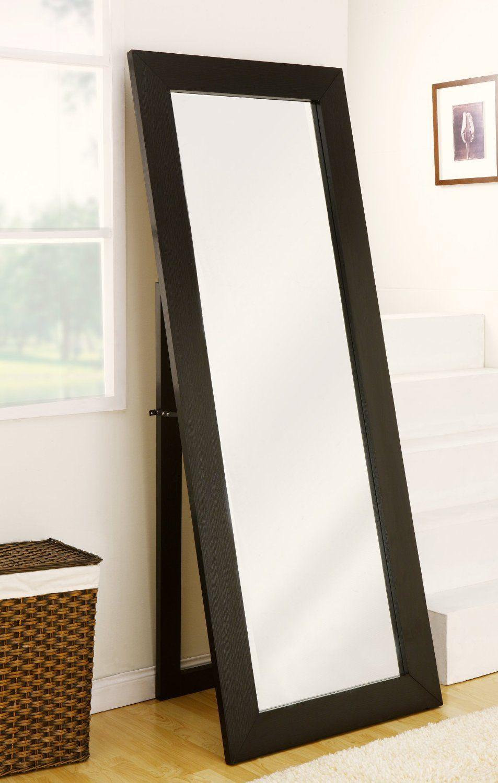 Amazon.com - Furniture of America Cosmo Beveled Floor Standing ...