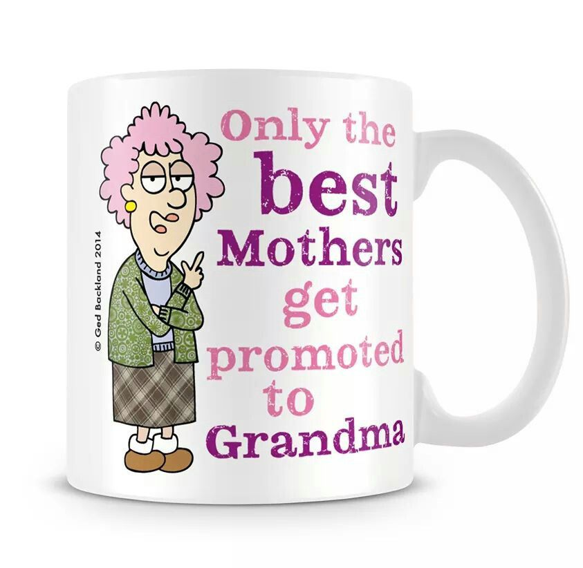 Only the best mothers get promoted to grandma