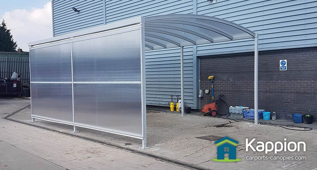 The Ultimate car valet car wash canopy. Great wash bay protection. & The Ultimate car valet car wash canopy. Great wash bay protection ...