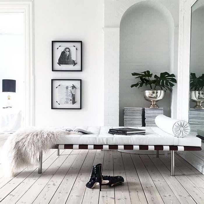 Valkoista, modernia ja rustiikkia