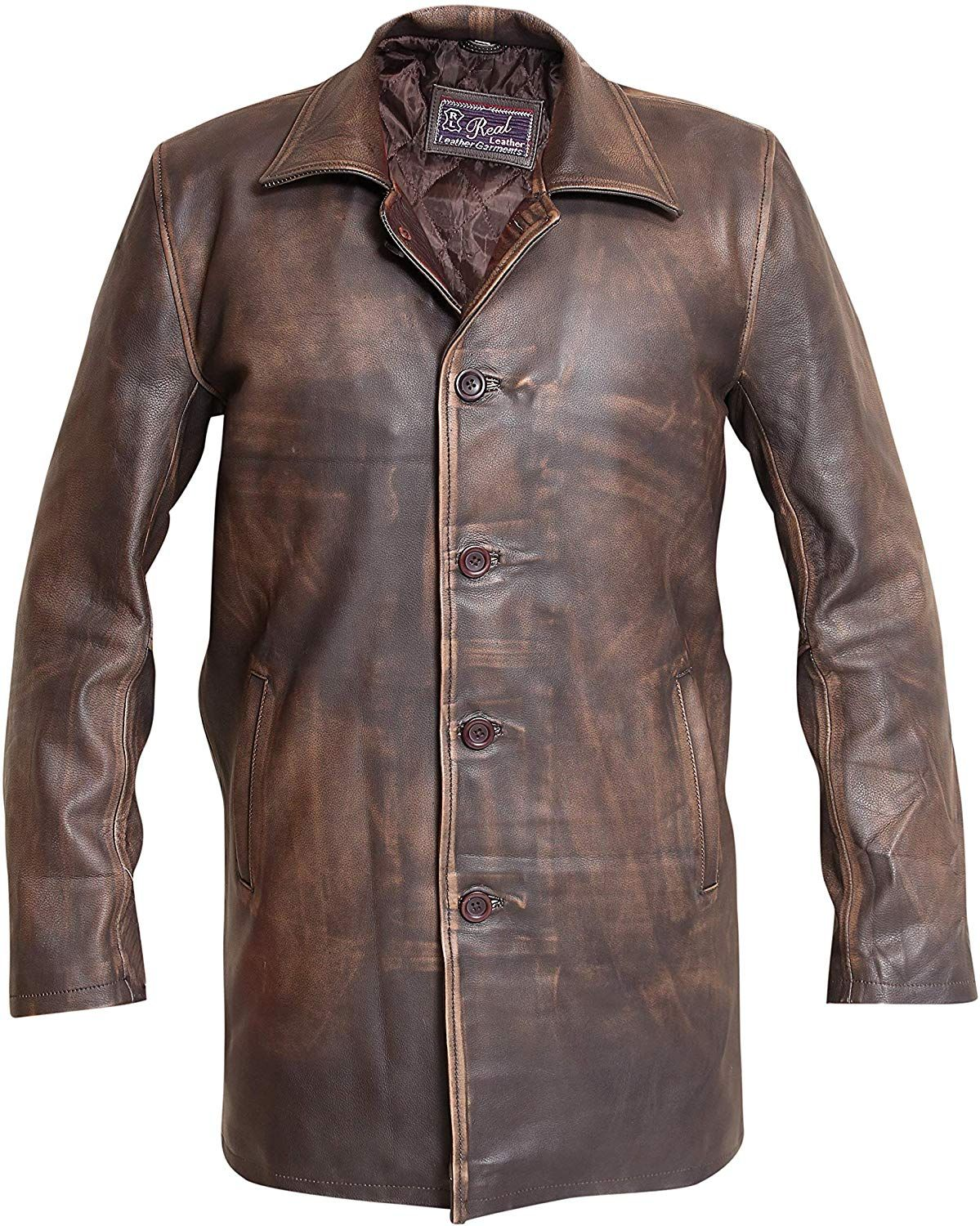 Dean Winchester Supernatural Distressed Brown Real Cowhide Leather Jacket Coat Xs At Amazon Men S Clothing Store Leather Jacket Real Cowhide Cowhide Leather [ 1500 x 1199 Pixel ]