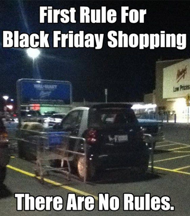 Educate Yourself on This Illustrious American Holiday With These Black Friday Memes #blackfridayfunny