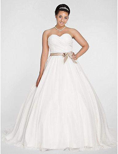 Vestido Novia de Gasa Talla Grande Rosendale @ Vestidos de Novia ...
