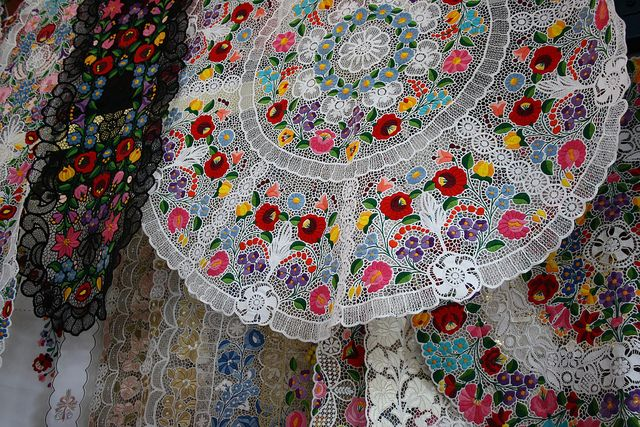Hungarian lace by Julia Hedges, via Flickr