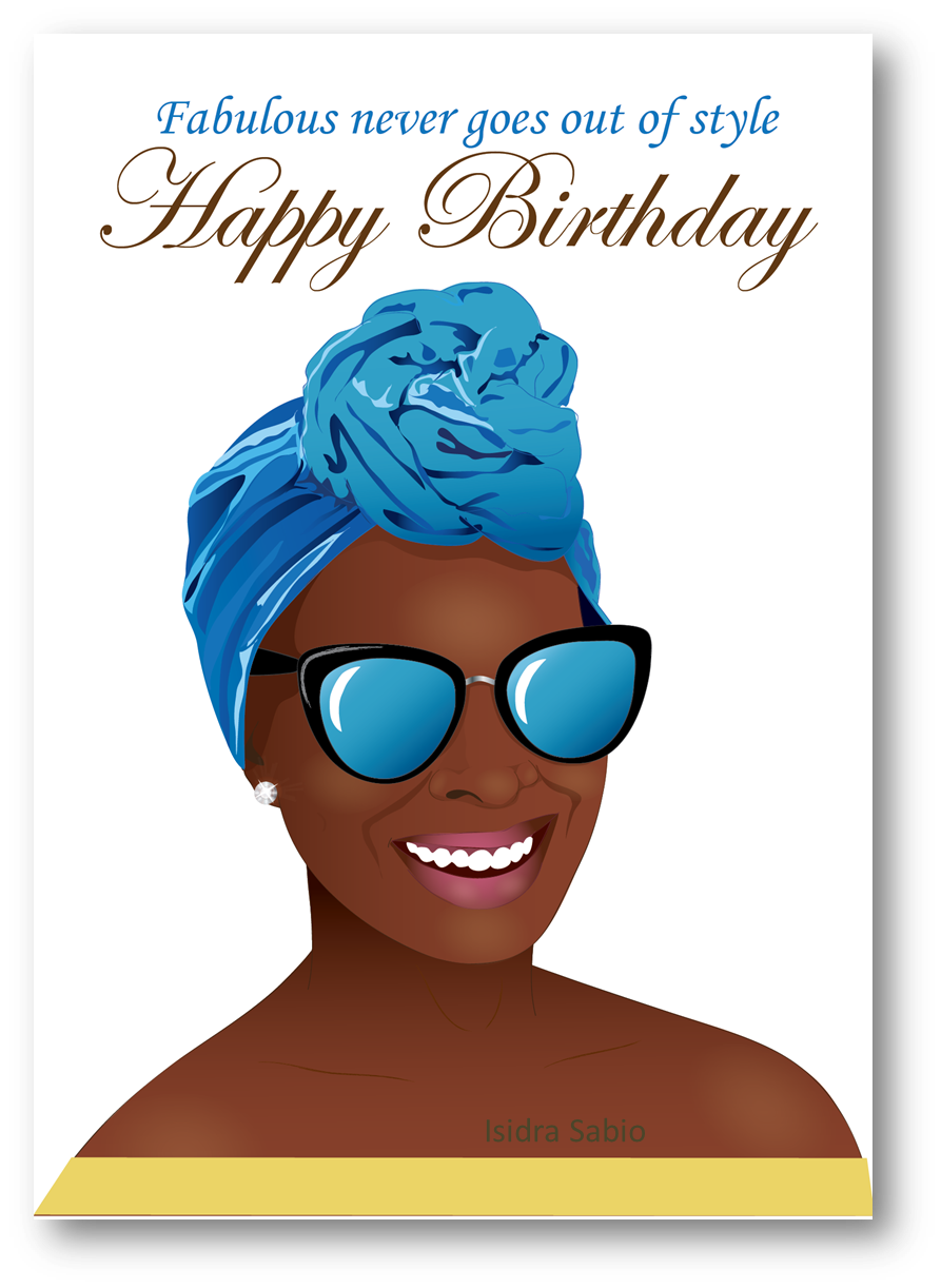 Pin On Birthday Cards Created By Afro Latin Publishing