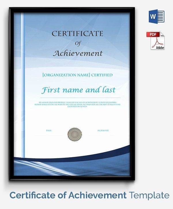 Award Certificate Template Google Docs Fresh Certificate