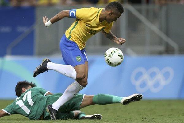 Hasil Olimpiade Rio: Ditahan Irak 0-0, Brasil Terancam ...