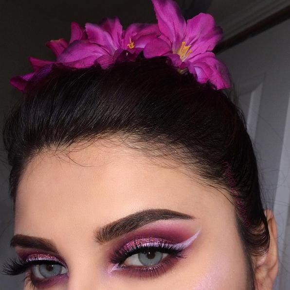 Pin de Rosana Santos em Make eyes | Visuais de maquiagem