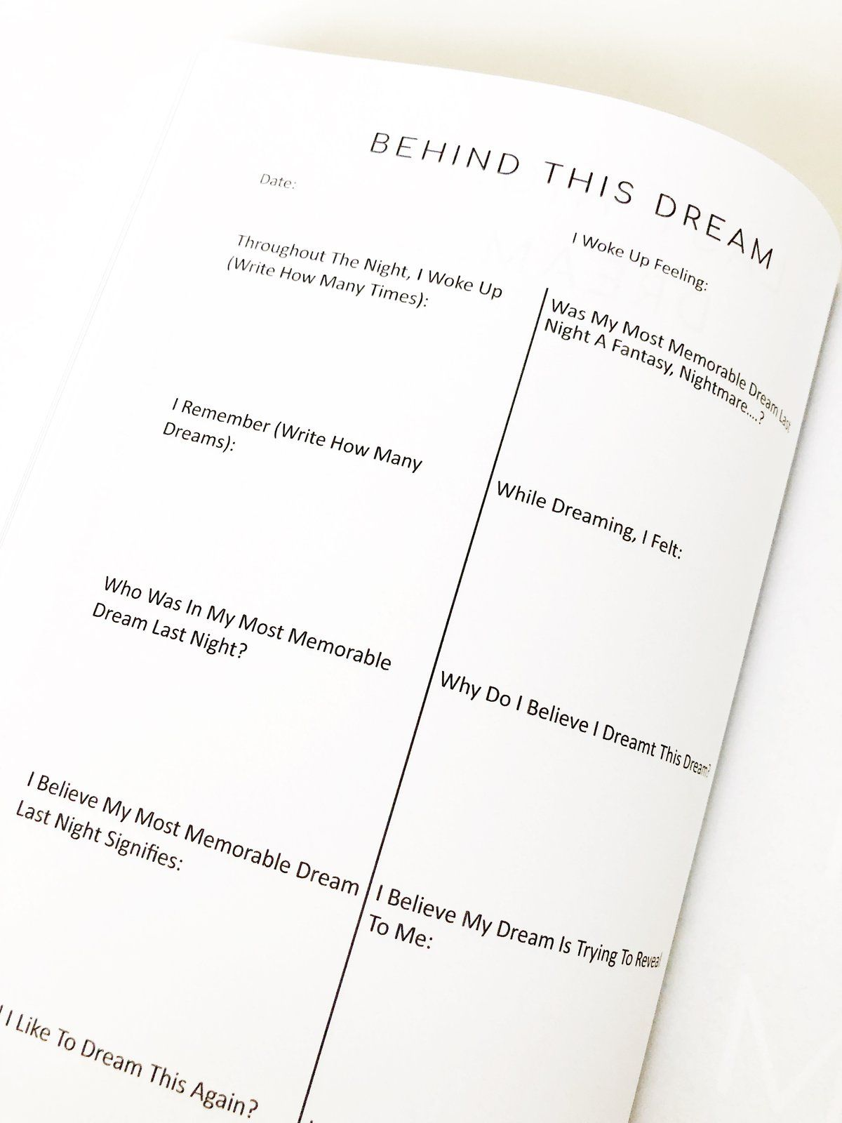 With My Dreams Journal Dream Journal Dream Journal How To Memorize Things Writing Motivation